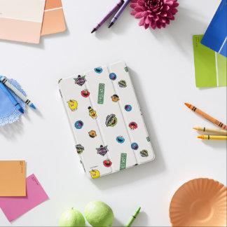 Sesame Street-Charakter-Muster iPad Mini Cover