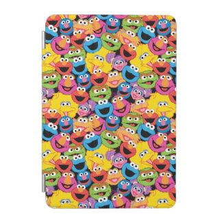Sesame Street-Charakter stellt Muster gegenüber iPad Mini Hülle
