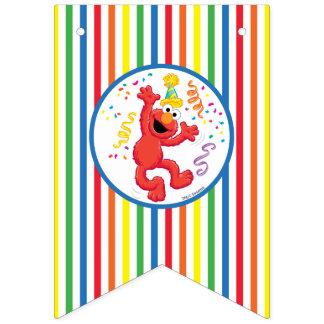 Sesame Street | Elmo - Regenbogen-Geburtstag Wimpelketten