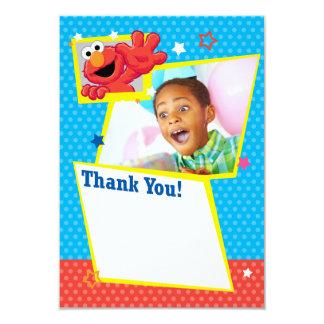 Sesame Street | Elmo - Tupfen-u. Stern-Geburtstag 8,9 X 12,7 Cm Einladungskarte