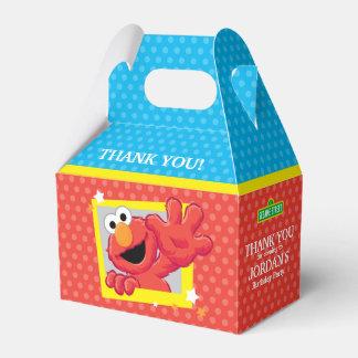 Sesame Street | Elmo - Tupfen-u. Stern-Geburtstag Geschenkschachtel