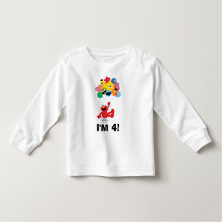 Sesame Street | Elmo u. Geburtstag der Kumpel--4th Kleinkind T-shirt