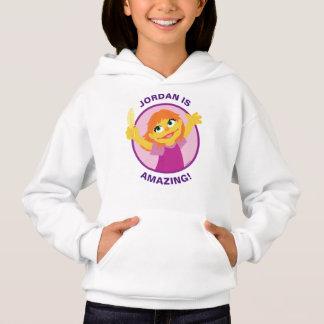 Sesame Street | Julia, die Feder hält Hoodie