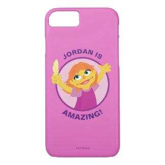 Sesame Street | Julia, die Feder hält iPhone 8/7 Hülle