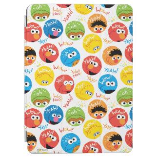 Sesame Street-Kreis-Charakter-Muster iPad Air Hülle