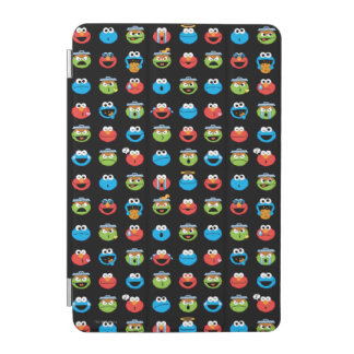Sesame Street-Kumpel Emoji Muster iPad Mini Hülle