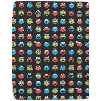 Sesame Street-Kumpel Emoji Muster iPad Smart Cover