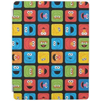 Sesame Street Rauminhalt berechnetes iPad Hülle