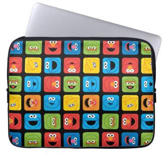 Sesame Street Rauminhalt berechnetes Laptopschutzhülle