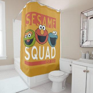 Sesame Street - Sesam-Gruppe Duschvorhang