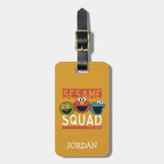 Sesame Street - Sesam-Gruppe Gepäckanhänger