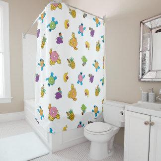 Sesame Street-tropisches Muster Duschvorhang