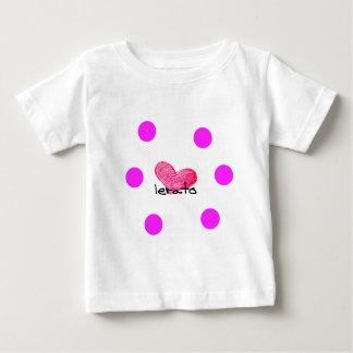 Sesotho Sprache des Liebe-Entwurfs Baby T-shirt