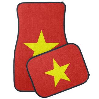Set Automatten mit Flagge von Vietnam Automatte