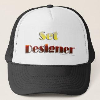 Set-Designer (nur Text) Truckerkappe