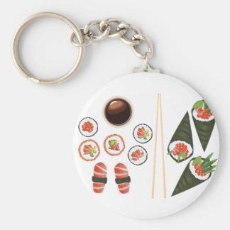 Set Sushi2 Schlüsselanhänger