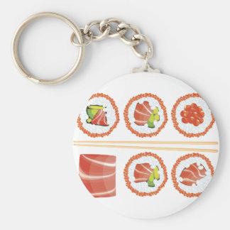 Set Sushi Schlüsselanhänger