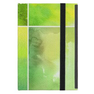 Set von abstraktem handgemaltem des Watercolor iPad Mini Schutzhülle