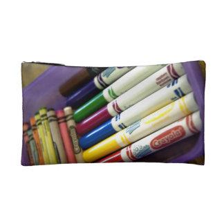 Set Zeichenstifte u. sieben verschiedene farbige