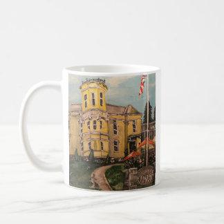 """""""Setzen-in-Bucht Weinkellerei in Südbass-Insel"""" Kaffeetasse"""