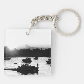 Setzen-n-Bucht Foto Schlüsselanhänger