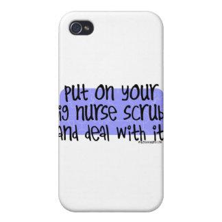 Setzen Sie an Ihre große Krankenschwester sich sch iPhone 4/4S Cover