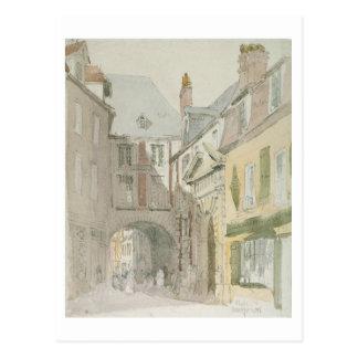 Setzen Sie Barthelme, Paris, c.1829 (w/c u. graue Postkarte