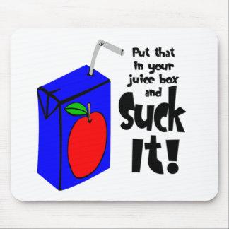 Setzen Sie das in Ihren Saft-Kasten ein und sind z Mousepads