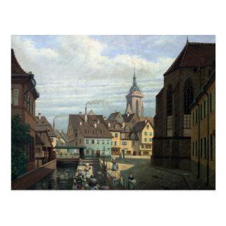 Setzen Sie DES Dominicains, Colmar, 1876 Postkarte
