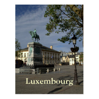 Setzen Sie Guillaume II, Luxemburg Postkarte
