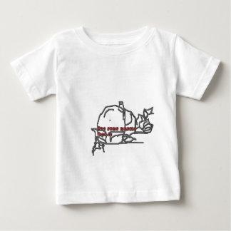 setzen Sie irgendeinen Muskel Baby T-shirt