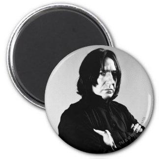 Severus Snape Arme gekreuzt Runder Magnet 5,7 Cm