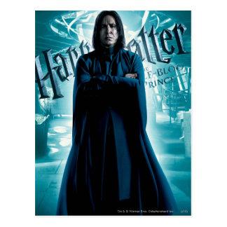 Severus Snape HPE6 1 Postkarte