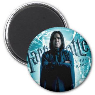 Severus Snape HPE6 1 Runder Magnet 5,7 Cm