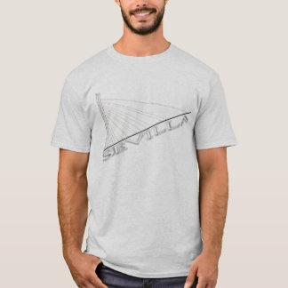 Sevilla Brücke alamillo T-Shirt