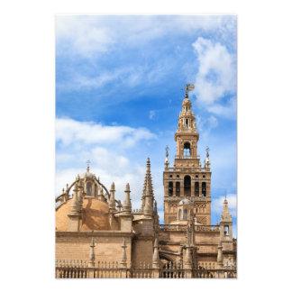Sevilla-Kathedrale in Spanien Fotodruck
