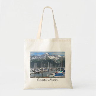 Seward Hafen, Alaska Budget Stoffbeutel