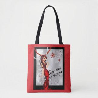 Sexy Jahreszeiten Greetongs mit Campagne und Tasche