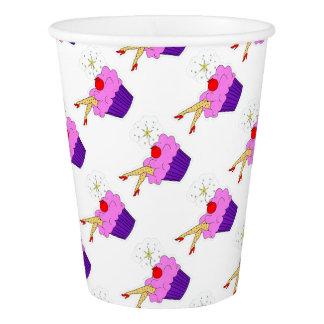 Sexy Kuchen-Papierschale Pappbecher