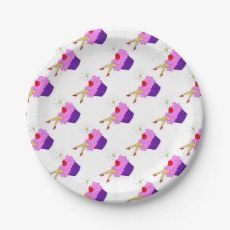 Sexy Kuchen-Pappteller Pappteller