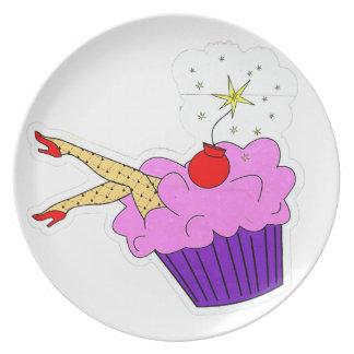 Sexy Kuchen-Platte Teller