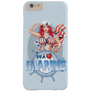 SEXY MARINECartoon iPhone 6/6s plus BT Barely There iPhone 6 Plus Hülle