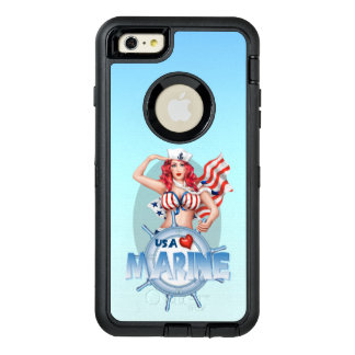 SEXY MARINEusa Apple iPhone 6 Plus-DS OtterBox iPhone 6/6s Plus Hülle