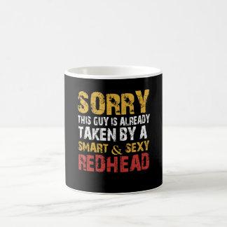 SEXY REDHEAD KAFFEETASSE