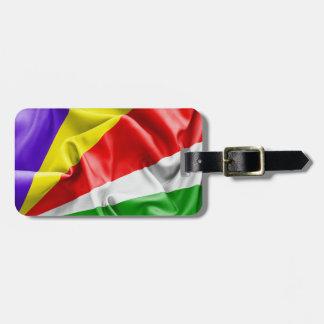 Seychellen-Flagge Gepäckanhänger