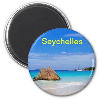 Seychellen-Magnet Kühlschrankmagnete