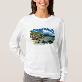 Seychellen, Mahe Insel, Anse Royale Strand. 3 T-Shirt