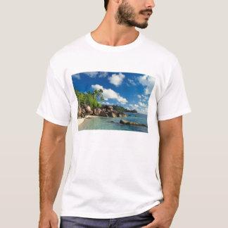Seychellen, Mahe Insel, Lazare Bucht T-Shirt
