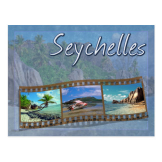 Seychellen Postkarte