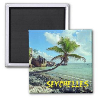 Seychellen Quadratischer Magnet